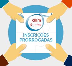 Projeto DOM – Inscrições prorrogadas