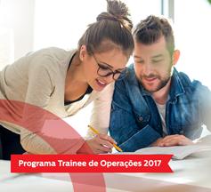 Trainee de Operações 2017 - Inscrições Abertas