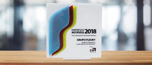 Grupo Fleury é eleito 'Empresa Notável'