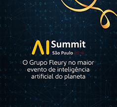 Grupo Fleury patrocina o AI Summit
