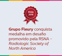 Conquistamos a medalha de prata em desafio organizado pela RSNA
