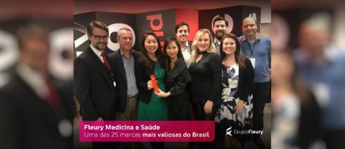 Fleury é uma das Marcas Brasileiras Mais Valiosas em 2019