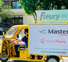 Grupo Fleury utiliza veículo elétrico para reduzir emissão de carbono